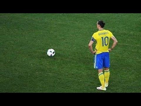 Zlatan Ibrahimovic-Top 10 Free Kicks
