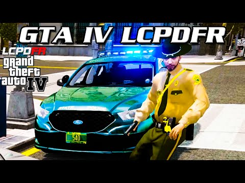 GTA IV LCPDFR MP - Vermont State Police