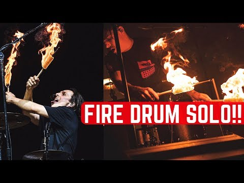 The Chainsmokers - LIVE DRUM SOLO + FIRE | Matt McGuire