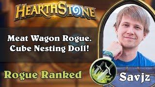 Savjz Playing Meat Wagon Rogue. Cube Nesting Doll!