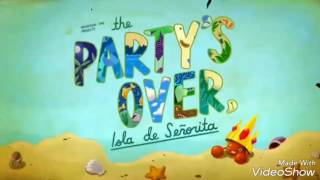 Adventure Time The Party's Over, Isla de Señorita review