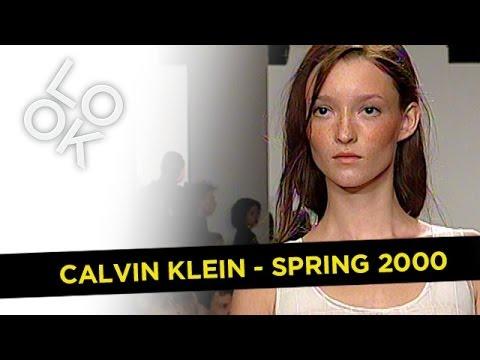Fashion Flashback: Calvin Klein Spring 2000