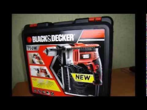 Дрель ударная Black&Decker KR705KA