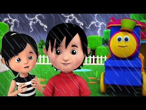 Bob Den Zug   Ich Höre Donner   Regenzeit Reime   I Hear Thunder Song