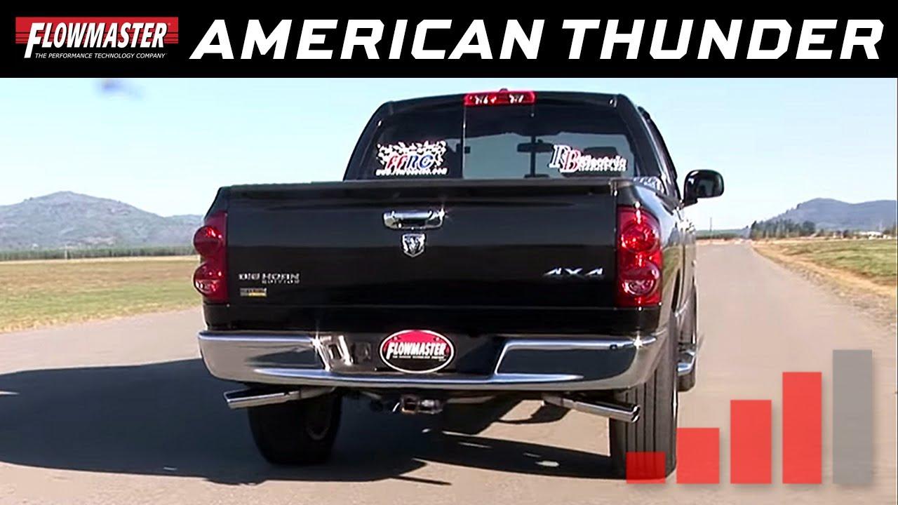 2007 Dodge Ram 1500 - Cat-back Exhaust System - Kit # 17424 / 817424 - YouTube