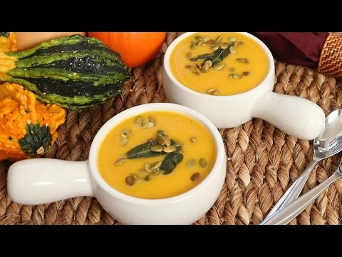 Butternut Squash Soup | #Homemade