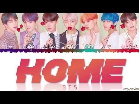BTS (방탄소년단) - 'HOME' Lyrics [Color Coded_Han_Rom_Eng]