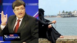Should Women Be Allowed Inside Haji Ali Dargah? : The  Newshour Debate (28th Jan 2016)