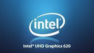 Intel UHD 620    Ultra HD 620 Graphics Performance Test in 7 games ! core i7 8550u