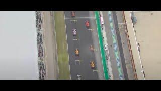 Así fue la inolvidable salida de Sainz en el GP de Portugal: ¡del 7º al 1º!