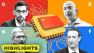 What Tim Cook, Google, and Zuckerberg have to say about China stealing US technology