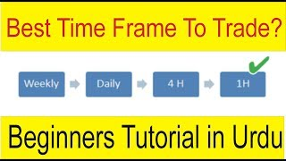 What is the best time Frame to trade Forex | Tani Forex Tutorial For Beginners in Urdu and Hindi