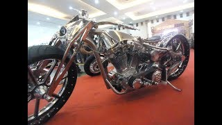 The Best Custom Softail Evolution 1997 Stainless Steel Rigid Frame