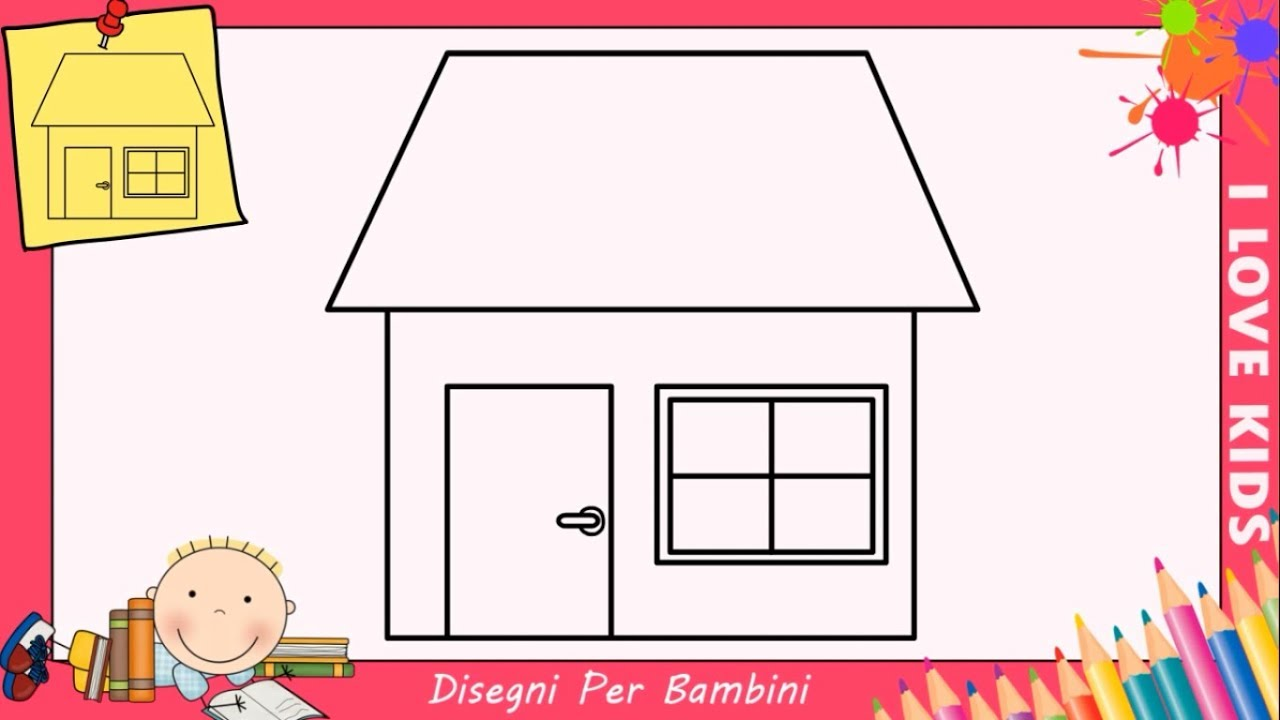 Disegno casa per bambini ze51 regardsdefemmes for Ottenere finanziamenti per una casa