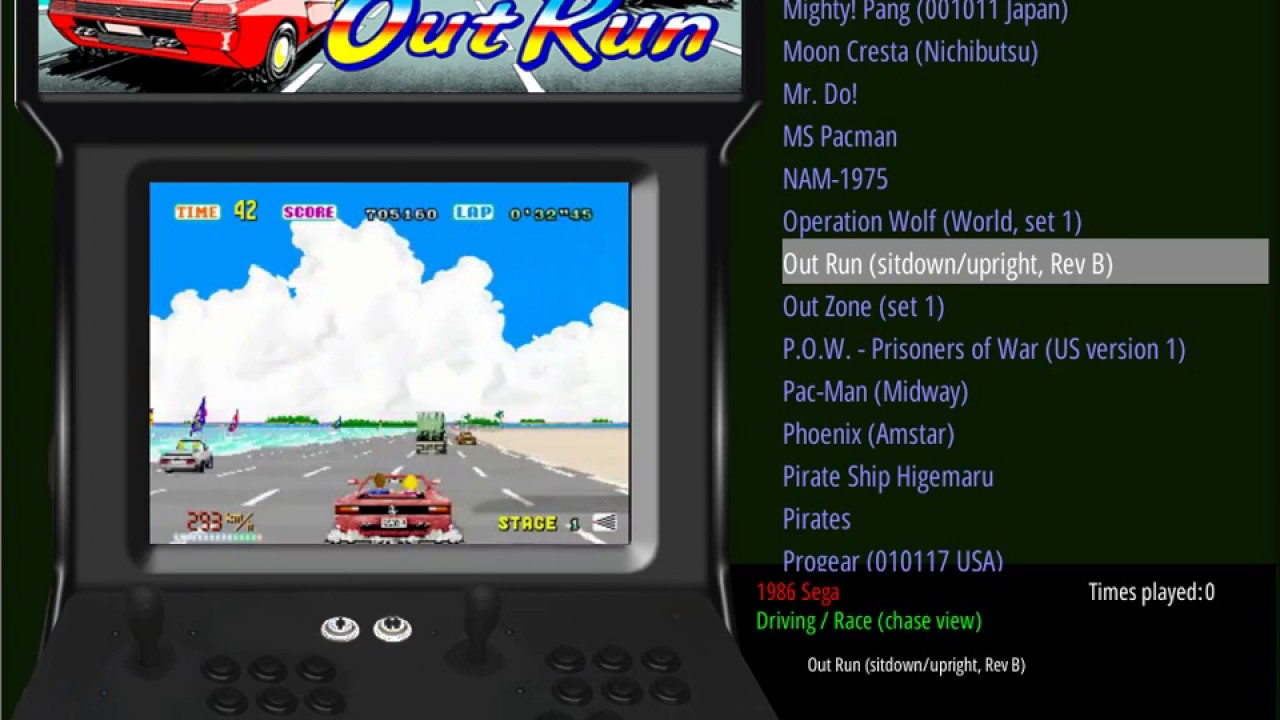 EmulationStation with Video Preview