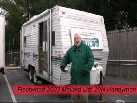 *SOLD* Fleetwood 2003 Mallard Lite 20N Handyman's Special travel trailer --  26604A