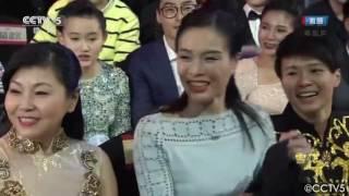 2016 CCTV体坛风云人物颁奖盛典傅园慧脱口秀 - 采访吴敏霞 Wu Minxia 和冠军们