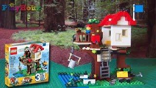 Lego Creator Treehouse (31010) Stop Motion - By:  Studio1011/playhouz