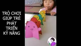 Trò chơi sáng tạo cho trẻ phần 3 - Sáng tạo trò chơi giúp trẻ thông minh