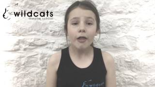 How Far I'll Go - Moana performed by Saskia Haley. Wildcats Theatre School