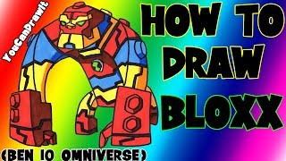 How To Draw Bloxx from Ben 10 Omniverse ✎ YouCanDrawIt ツ 1080p HD