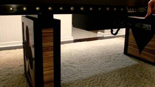 Lighted Poker Table, Raising And Lowering Freature 2 Of 2