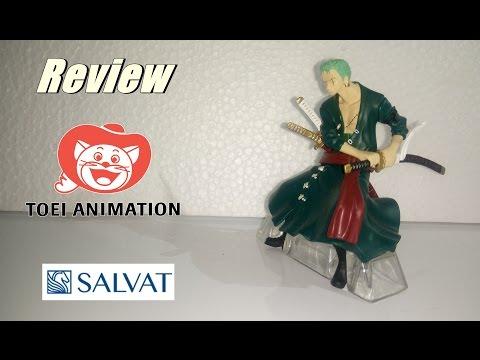 Coleção Oficial One Piece_Zoro Review, Toei Animation e Salvat