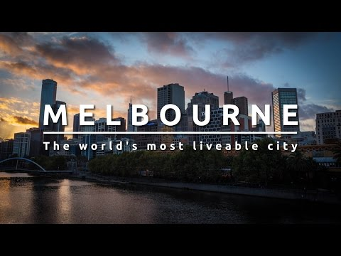 Melbourne Australia. The world's most liveable city.