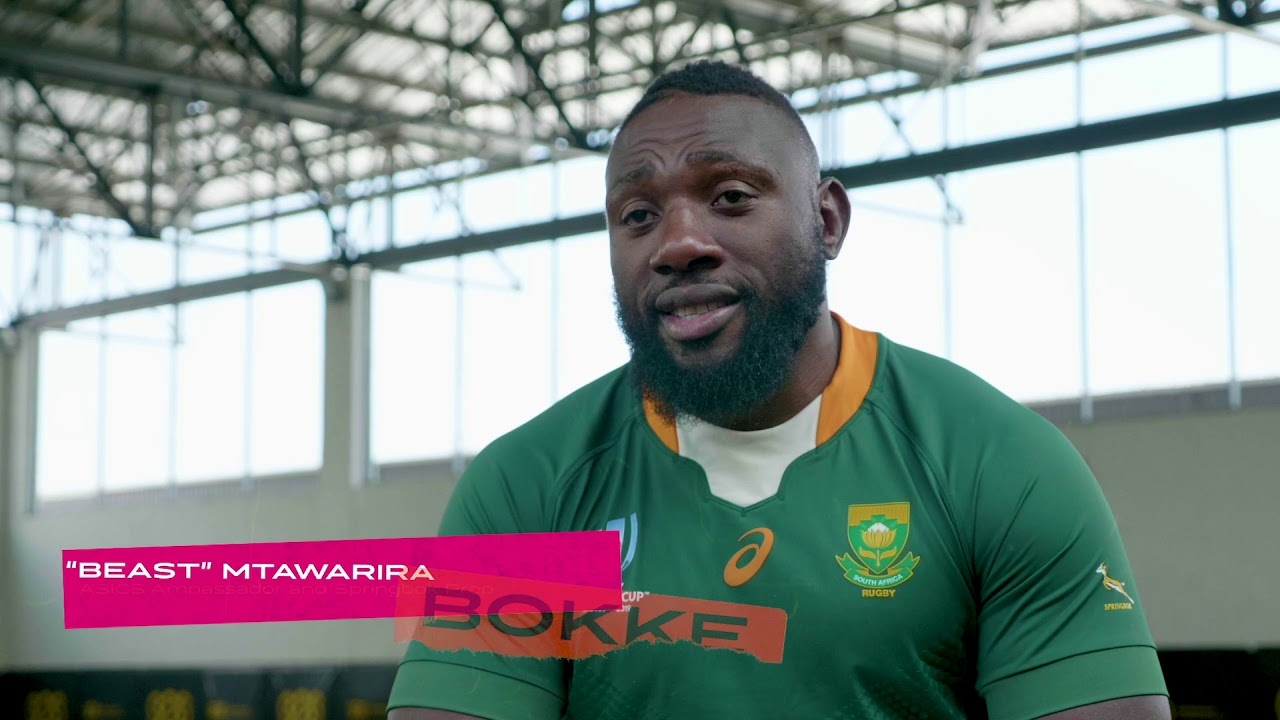ASICS Reveal Springboks Rugby World Cup 2019 Jersey - TheYellowCap com