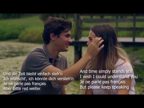 Namika - Je Ne Parle Pas Français Translation (English - German Lyrics)