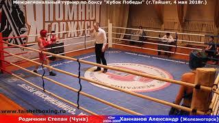 Родичкин Степан (Чуна) — Ханнанов Алексей (Железногорск)