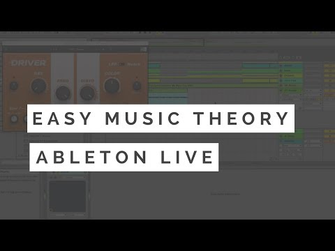 Music Theory For Electronic Music Producers Tutorial - Ableton