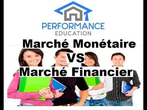 Marché monétaire, Marché financier: Quelle est la différence ?