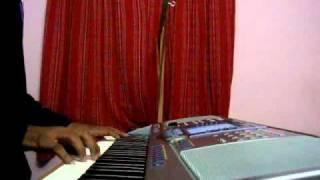 Aayirathil Oruvan maalai neram piano cover by Naveen Selva.flv