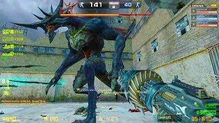 Counter-Strike Nexon: Zombies - Angra Zombie Boss Fight (Hard6) online gameplay on Angra Nest map