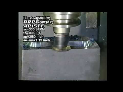 Mitsubishi Materials BRP Round Indexable Insert End and Face Milling Cutters