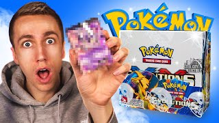 I CAN'T BELIEVE I PACKED THIS! (Pokemon Evolutions Pack Opening)