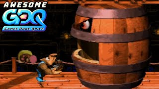 Donkey Kong Country 3 by V0oid in 1:55:26 - AGDQ2020