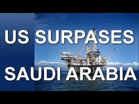 U.S. Will Pass Saudi Arabia In Oil Production