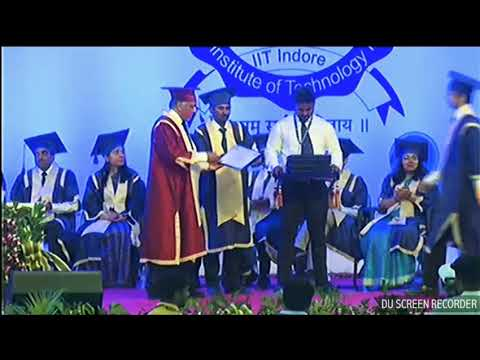 IIT Indore Mechanical 2013-17 Batch Convocation