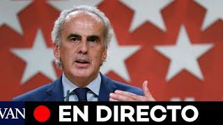 DIRECTO: Rueda de prensa del consejero de Sanidad de la Comunidad de Madrid, Enrique Ruiz Escudero