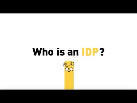 Who is an IDP (Internally Displaced Person)?