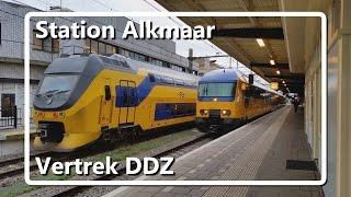 DDZ vertrekt van station Alkmaar!