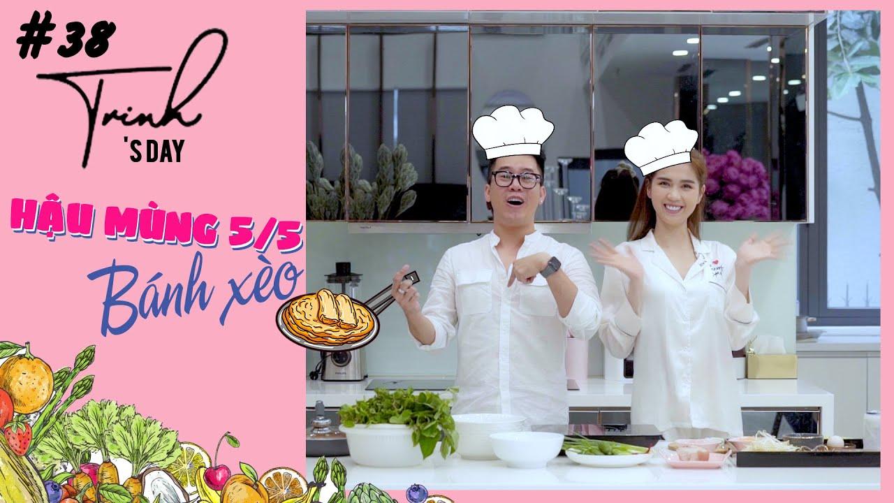 Ngọc Trinh - My Challenge #38 | Trinh Trinh Đổ Bánh Xèo - Ngon Thì Ăn Không Ngon Thì Ăn