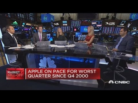Apple on pace for worst quarter since 2000