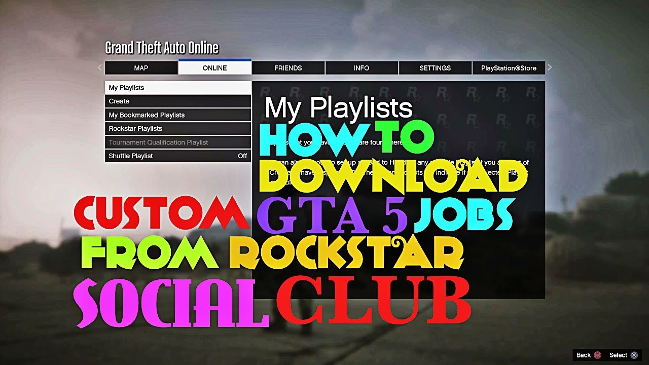 How to download rockstar games social club app for android youtube.