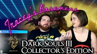 Dark Souls 3 Collector's Edition Unboxing - and Tracey Sucks at Dark Souls