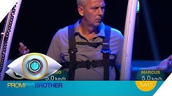 Mario Basler vs. Prinz Marcus: LAUFBAND-DUELL | Promi Big Brother | SAT.1