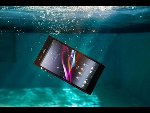 cheap for discount 0a249 09cc3 Sony Xperia Z1 Ultra WaterProof Test