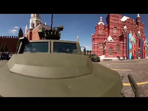 Victory Day Parade 360: Military equipment rolls through Red Square